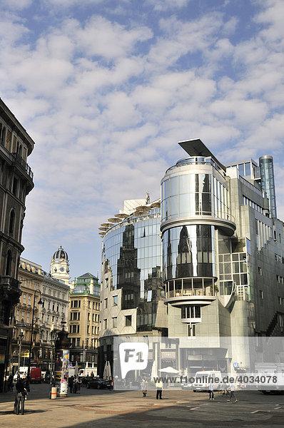 Haas-Haus am Stephansplatz  Wien  Österreich  Europa