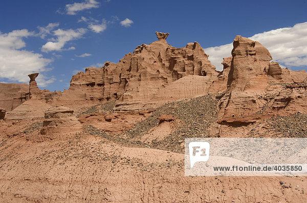 Ciudad perdida  Die Verlorene Stadt  Nationalpark Talampaya  Welterbe der UNESCO  Provinz La Rioja  Argentinien