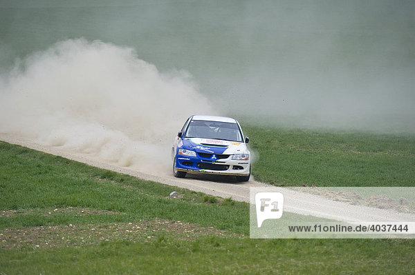 Auto bei Triestingtal Rallye  Niederösterreich  Österreich  Europa