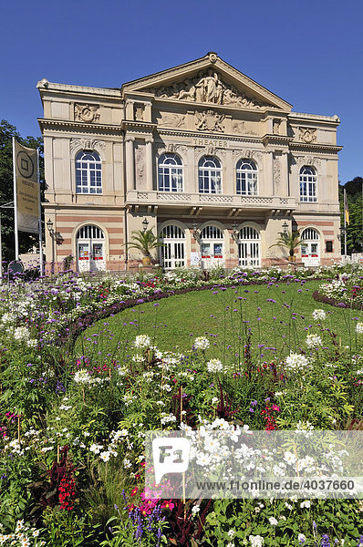 Theater  Baden-Baden  Baden-Württemberg  Deutschland  Europa