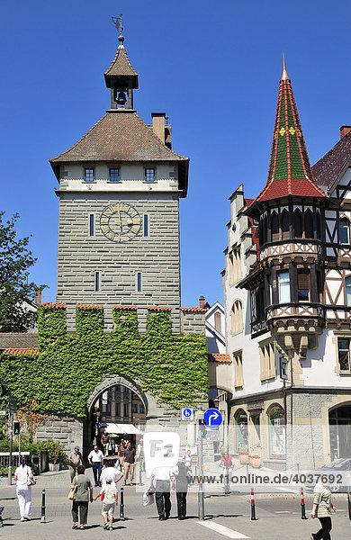 Schnetztor in Konstanz  Baden-Württemberg  Deutschland  Europa