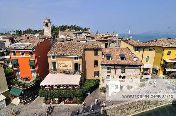Sirmione  Lago di Garda or Lake Garda  Lombardy  Italy  Europe