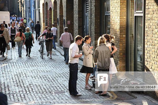 Straßen-Leben  London  England  Großbritannien  Europa