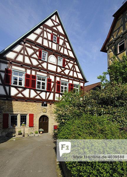Ehemaliges Physikat in Marbach am Neckar  Baden-Württemberg  Deutschland  Europa