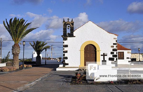 Pfarrkirche Ermita de San Antonio de Padua  Lajares  Fuerteventura  Kanarische Inseln  Spanien  Europa