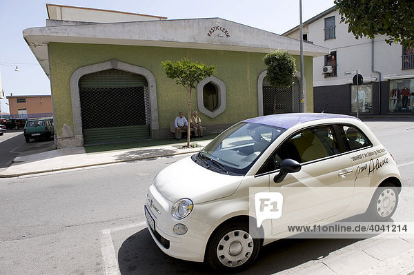 Fiat  Kleinwagen in Italien