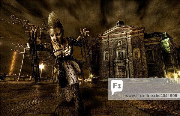 Female vampire  fantasy