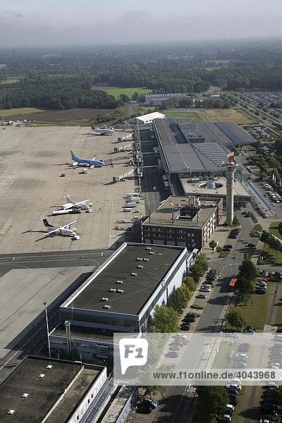 Flughafen Münster-Osnabrück  Nordrhein-Westfalen  Deutschland  Europa