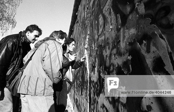 Fall der Berliner Mauer  Berlin  Deutschland  Europa