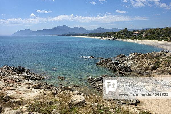 Strand  Barisardo  Sardinien  Italien  Europa
