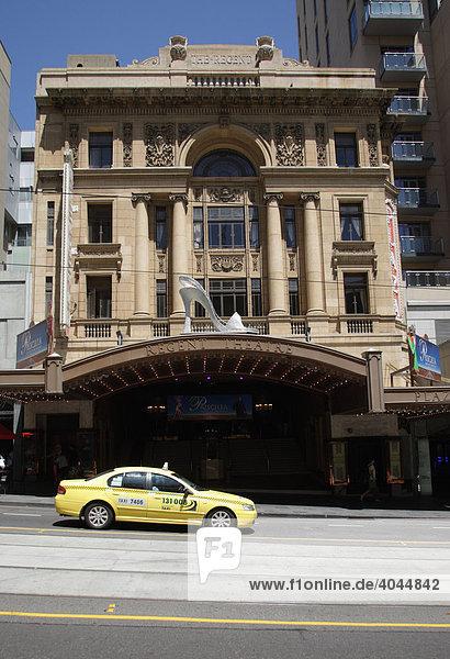 Regent Theatre in der Collins Street  erbaut 1929  Musical Theater  historisch  Denkmalschutz  Melbourne  Victoria  Australien