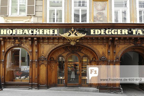 Hofbäckerei Edegger-Tax in Hofgasse  Graz  Steiermark  Österreich  Europa