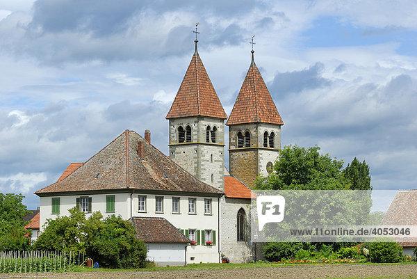 Peter und Paulkirche  Insel Reichenau  Baden-Württemberg  Deutschland  Europa