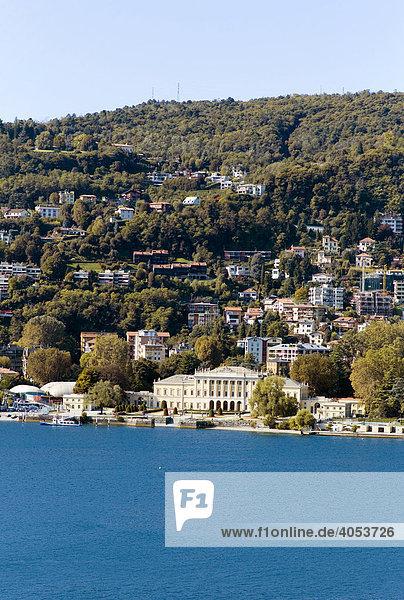 Villa Olmo  Como  Comer See  Lombardei  Italien  Europa