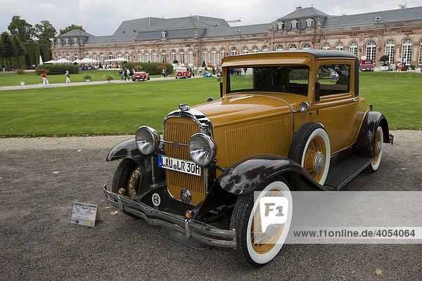Buick USA 1931  Oldtimer-Gala Schwetzingen  Baden-Württemberg  Deutschland  Europa