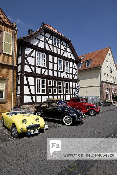 Ford A Fun Car  Austin Healey  VW Käfer  Dreieich  Hessen  Deutschland  Europa