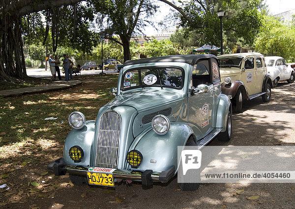 Oldtimer  Havanna  Kuba  Cuba  Karibik