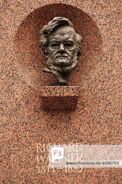 Richard Wagner Denkmal  Nürnberg  Mittelfranken  Bayern  Deutschland  Europa Richard Wagner Denkmal, Nürnberg, Mittelfranken, Bayern, Deutschland, Europa
