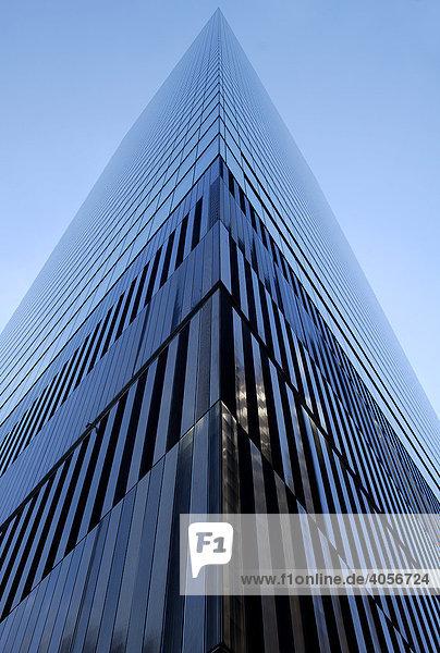 Wolkenkratzer am Ground Zero  New York City  USA