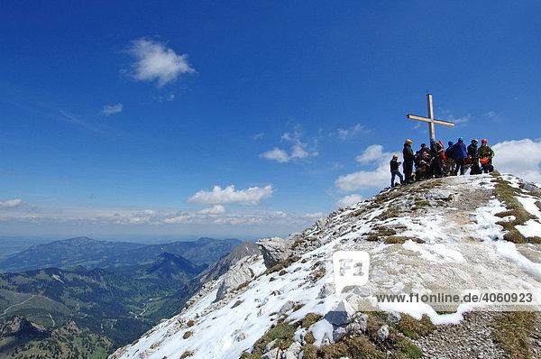Hindelanger Klettersteig Wengenkopf : Allgäu bayern deutschland europa iblnex01034427 hindelanger