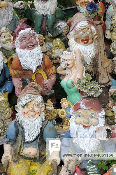 Gartenzwerge  Keramikfiguren