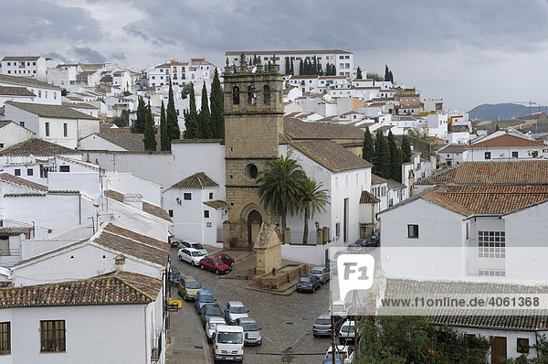 View of Ronda  Andalusia  Spain  Europe