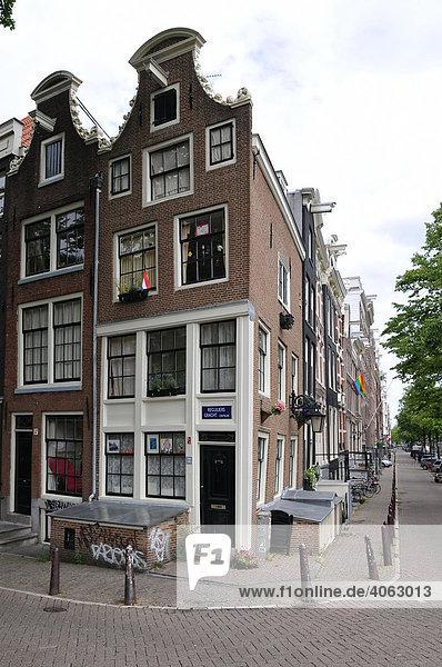 amsterdam ecke keizersgracht und reguliersgracht europa iblpal00902150 grachten niederlande. Black Bedroom Furniture Sets. Home Design Ideas