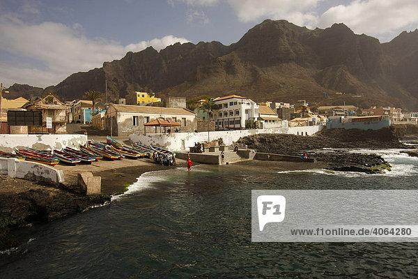Ponta do Sol on Santo Antao Island  Cape Verde  Cape Verde Islands  Africa