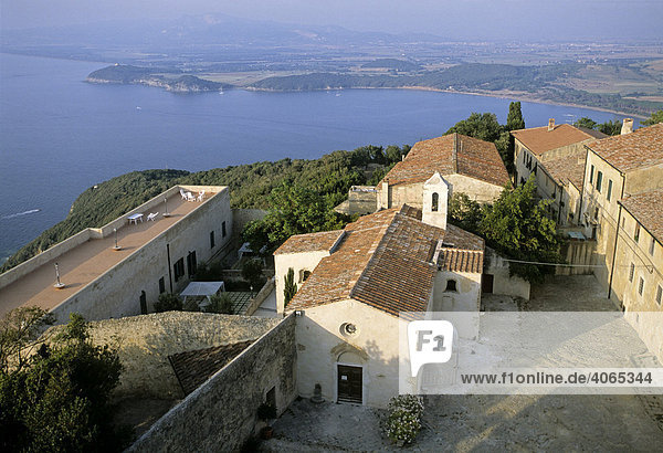 Populonia  Golf von Baratti  Provinz Livorno  Toskana  Italien  Europa