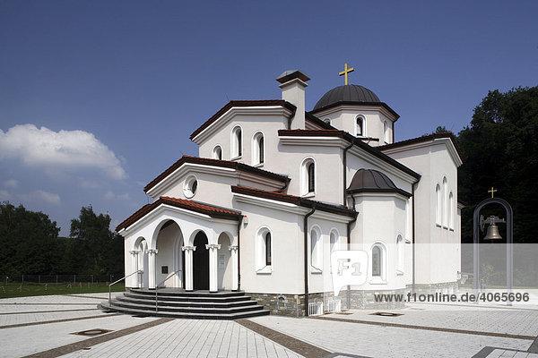 Griechisch-orthodoxe Kirche St. Dimitrios  Herten  Ruhrgebiet  Nordrhein-Westfalen  Deutschland  Europa