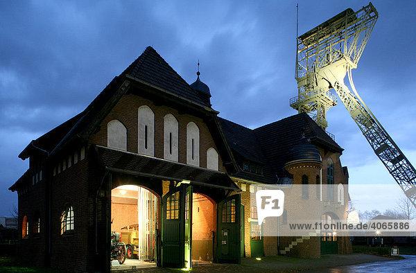 Zeche Zollern  Westfälisches Industriemuseum  Dortmund  Ruhrgebiet  Nordrhein-Westfalen  Deutschland  Europa