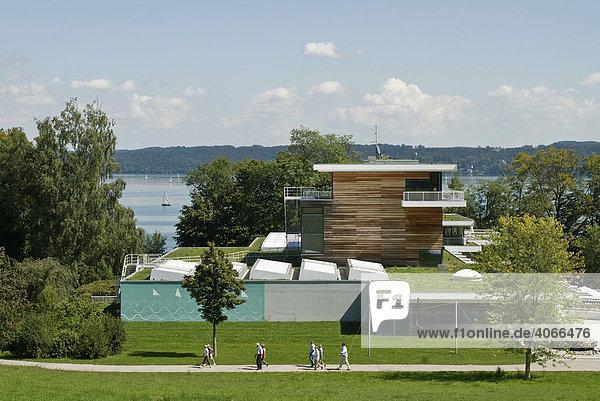 Buchheim Museum bei Bernried am Starnberger See  Bayern  Deutschland  Europa
