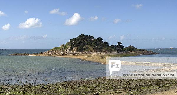 Ile Steréc in der Bucht von Morlaix  Bretagne  Frankreich  Europa