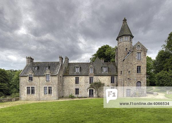 Chateau de Suscinio  Finistre  Bretagne  Frankreich  Europa