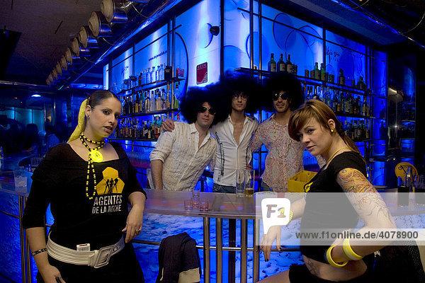 Deja Vu Club  discotheque  host city of Expo 2008  Zaragoza  Aragon  Spain  Europe