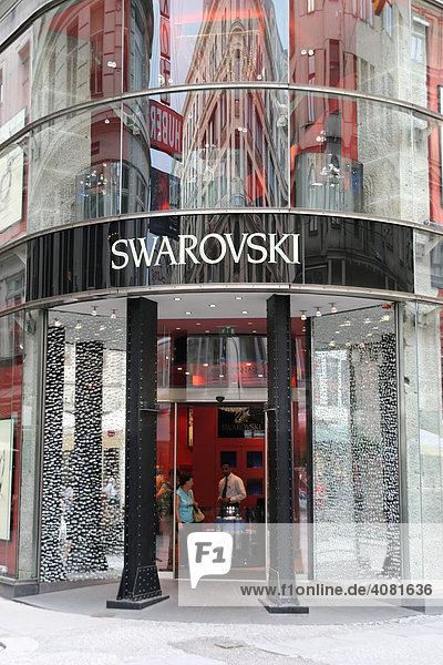 Swarovski  Kärtner Strasse (Österreich  Wien)