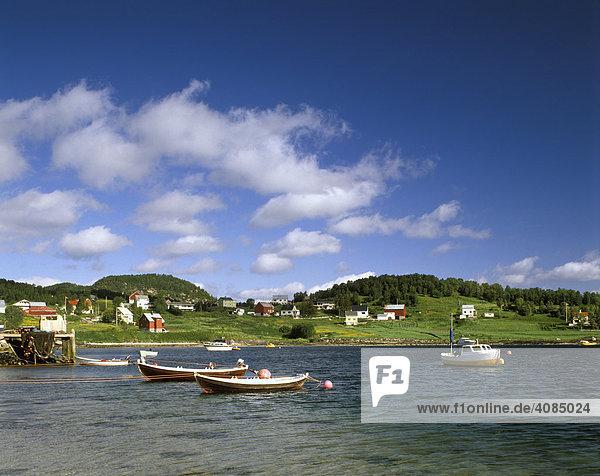 Vagsfjord bei Harstad Norwegen
