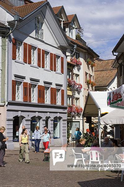 Tingen an der Wutach Baden-Württemberg Deutschland Marktstrasse Fussgängerzone