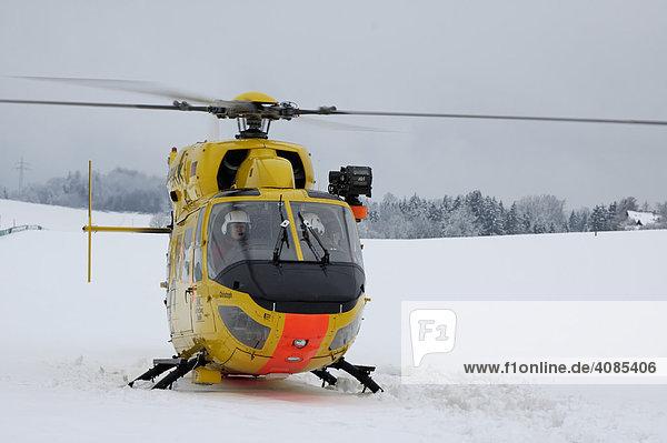 Rettungshubschrauber  Helicpoter  ADAC