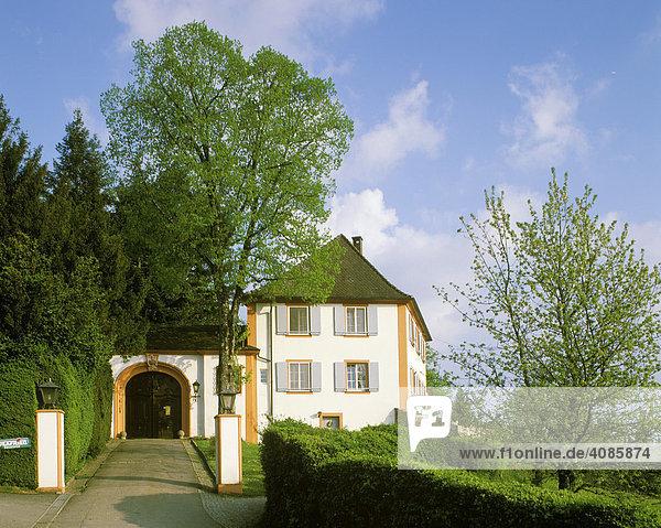 Schloss Bürgelen bei Kandern Hochschwarzwald Baden-Württemberg Deutschland