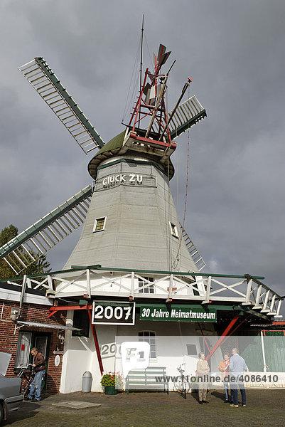 Galerie Holländermühle Peldemühle Wittmund Friesland Niedersachsen Deutschland