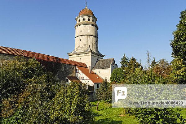Nördlingen Schwaben Bayern Deutschland Löpsinger Tor