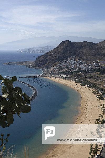 Playa de las Teresitas  Teneriffa  Kanarische Inseln  Spanien