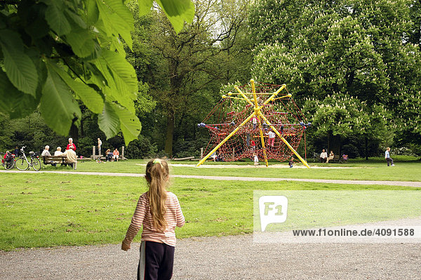 Klettergerüst Schlosspark Herten : Deutschland iblboe00059219 herten nordrhein westfalen nrw
