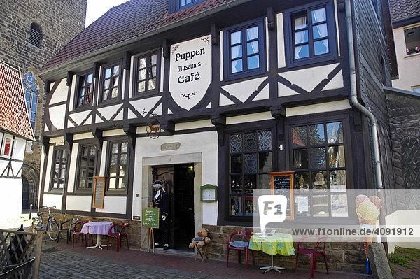 Historisches Wohnhaus  Puppenmuseum  Minden  Teutoburger Wald  NRW  Nordrhein Westfalen  Deutschland