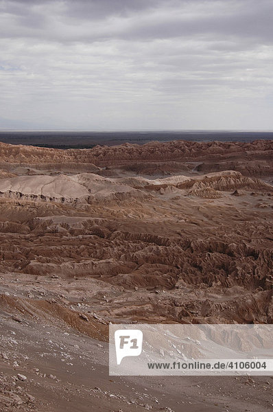 Valle de la Luna (Tal des Mondes) San Pedro Atacama Wüste Chile Südamerika