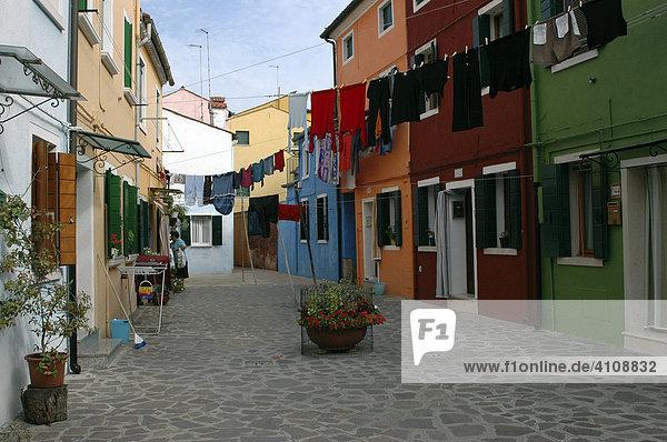 Burano  Insel Burano  Venedig  Venetien  Italien  Europa