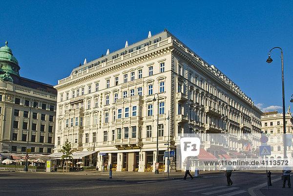 Hotel Sacher  Wien  Österreich