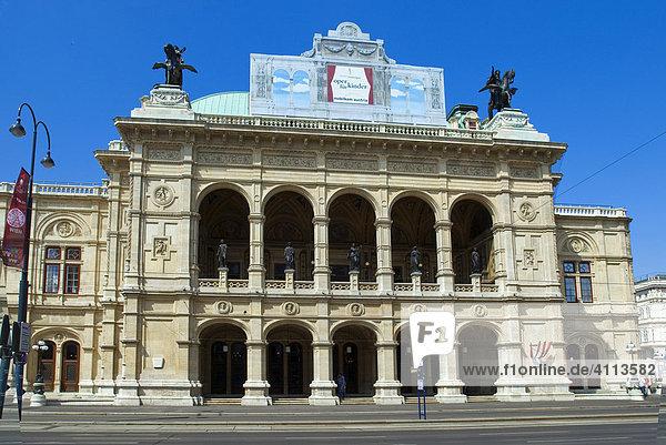 Opernhaus  Wien  Österreich