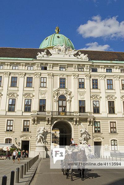 Spanische Hofreitschule  Wien  Österreich
